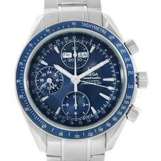 17107 Omega Speedmaster Day Date Chronograph Watch 3222.80.00 Box Papers SwissWatchExpo