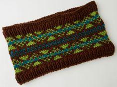 Fabulous Fair Isle Knit Cowl Pattern | AllFreeKnitting.com