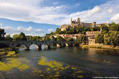 Le pont Vieux à Beziers - Hérault