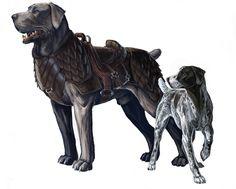War dog and friend. by *BenWootten on deviantART