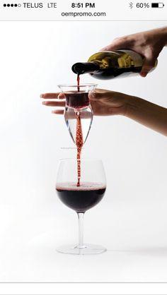 A wine aerator!!