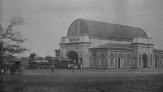 Antigua estación del Tren de Granada. Nicaragua.