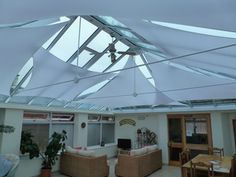 conservatory roof sails - Google Search