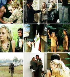 Bethyl and Normily (Beth and Daryl) The Walking Dead | Norman Reedus and Emily Kinney