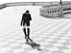 [ID: a man walking on a terrace, holding a foil.]  itzjp:    My favorite foil fencer in the world.. Andrea Baldini