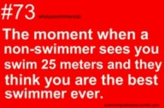 Was swimming fly just to get to the other side of the pool and they thought I was the best swimmer ever. Ya,right. Swimming Funny, I Love Swimming, Swimming Diving, Scuba Diving, Competitive Swimming, Synchronized Swimming, Swimmer Quotes, Swimmer Girl Problems, Olympic Gymnastics