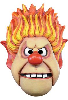 The Year Without a Santa Claus - Heat Miser Halloween Mask                                                                                                                                                      More