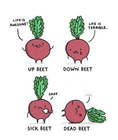 It's been a long week. We're feeling pretty beet. #TGIF