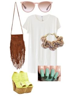 Neon & Neutrals - Hawaii Vacation Outfit