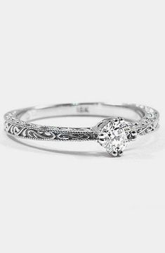 100 Simple Vintage Engagement Rings Inspiration (15) #UniqueEngagementRings