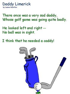 father's day golf poems