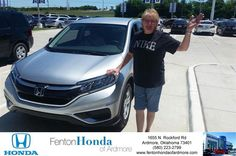 https://flic.kr/p/GRN6F8 | Congratulations Belinda on your #Honda #CR-V from Ryan Adcock at Fenton Honda of Ardmore! | deliverymaxx.com/DealerReviews.aspx?DealerCode=A687