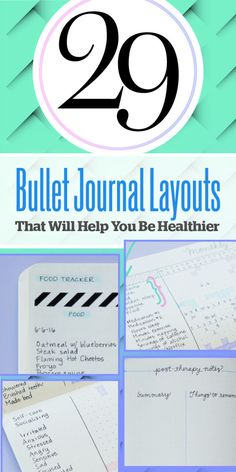 29 Bullet Journal Layouts For Anyone Trying To Be Healthy - BuzzFeed News