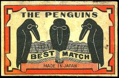 Match Box Label with Ravens instead of Penguins