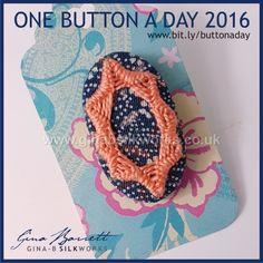 Day 312: Sweetness #onebuttonaday by Gina Barrett