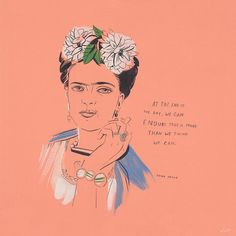 make art not friends Frida Kahlo art illustration Pretty Words, Beautiful Words, Cool Words, Wise Words, Beautiful Things, Feminist Quotes, Feminist Art, Frida Kahlo Feminist, Feminist Issues