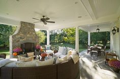 North Shore Home 5 - traditional - porch - new york - by Gallagher Homburg & Gonzalez Architects PLLC