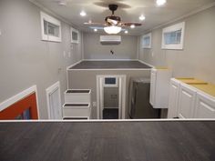 Tiny House Loft View  Built By Tiny House Builder http://www.uppervalleytinyhomes.com/tiny-house-builders.html  Tiny House Trailer Builders http://www.uppervalleytinyhomes.com/Tiny-House-Trailer.html