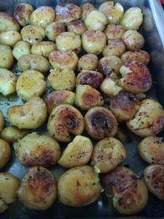 Batatas assadas, ou como dizem os alemães, roast kartoffeln