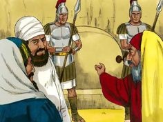 Opstanding van Jezus, 11 Bijbelplaten voor het digibord, kleuteridee.nl , Bijbelles voor kleuters.