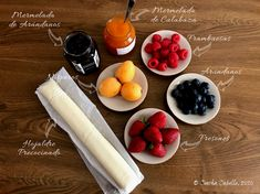 Tarta Fina de Frutos Rojos con Nísperos   Mise en Place Dairy, Cheese, Dishes, Sweets, Wafer Paper, Phyllo Dough, Dessert, Mise En Place