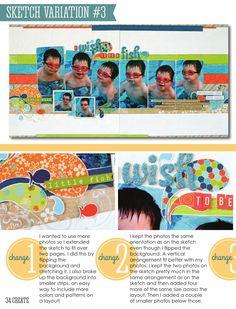 Allison Davis - Create June 2014 issue.