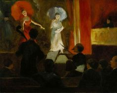 Theater Scene - William James Glackens 1903