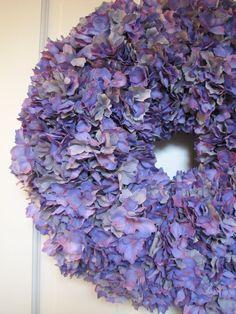 Lavender Hydrangea Wreath  https://www.etsy.com/listing/172931561/lavender-hydrangea-wreath-ready-to-ship?ref=listing-shop-header-2