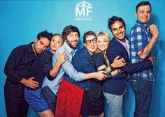 BBT cast: Johnny Galecki, Jim Parsons, Kaley Cuoco, Simon Helberg, Kunal Nayyar, Melissa Rauch, & Mayim Bialik