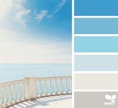 Coastal and Beach Decor: Coastal Decor Color Palette - Mental Vacation