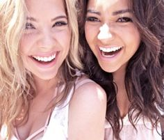 These girls are amazing actresses and so great to watch on #pll every tuesday :)