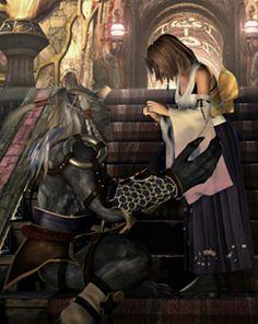 Yuna and Kimahri Final Fantasy X