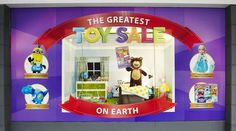 Toy Sale 2015 - Animated window created by CC2C for Target Australia.