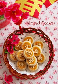 almond cookies, Chinese almond cookies, cookies, toddler, Chinese New Year, food for tots