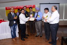Achiever Summit 2014-2015 conducted by IBS Coaching Institute in Chandigarh.