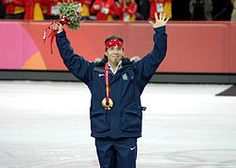 Apolo Anton Ohno is an American short track speed skating competitor and an eight-time medalist (two gold, two silver, four bronze) in the Winter Olympics. He is the most decorated American Winter Olympic athlete of all time.  Raised by his father, Ohno began training full-time in 1996. He has been the face of short track in the United States since winning his medals at the 2002 Winter Olympics