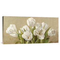 Found it at Wayfair - 'Tulipani bianchi' by Serena Biffi Painting Print on…