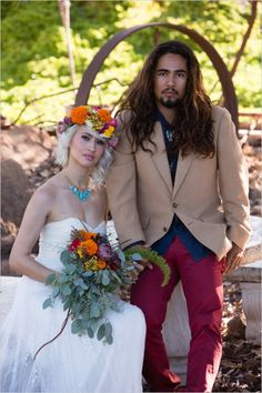 boho inspiration from wedding chicks