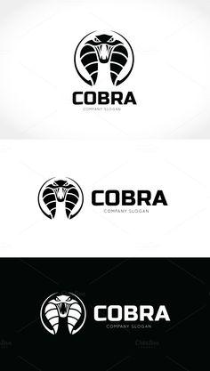 Cobra Snake Logo by Super Pig Shop on Logos, Logo Branding, Cobra Tattoo, Grim Reaper Art, Cobra Snake, Game Logo Design, Artist Logo, Pin On, Skull Art