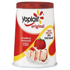 Yoplait®  Original Strawberry Cheesecake Yogurt 6 oz
