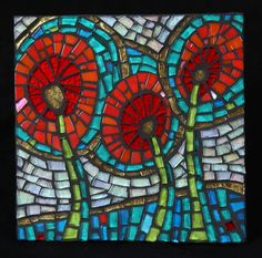 Old art- New Picture- What a difference a photographer makes! Mosaic Garden Art, Mosaic Art, Mosaic Projects, Art Projects, Mosaic Ideas, Mosaic Rocks, Mosaic Pictures, Mosaic Flowers, Glass Christmas Tree