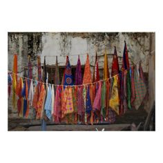 colorful clothesline - Google Search