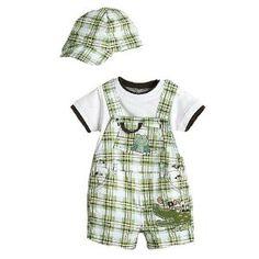 Amazon.com: Baby Rebels Plaid Infant Boys 3pc Sets, Size 3-6M: Clothing