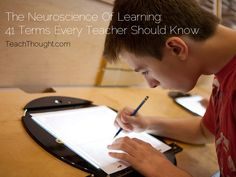The Neuroscience of Learning: 41 Terms Every Teacher Should Know by Judy Willis