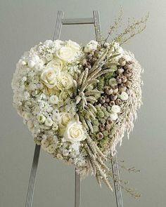Funeral Standing SprayOttawaIntimacy Wreath