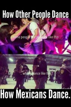 They Dance Like That ^^^ While We Dance Like This vvv <3