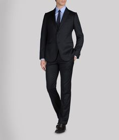 Armani Black Mens Suit.  Hello, it's Armani.