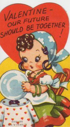 Valentine Images, My Funny Valentine, Vintage Valentine Cards, Vintage Greeting Cards, Valentine Day Crafts, Naughty Valentines, Valentines Greetings, Vintage Images, Vintage Clip