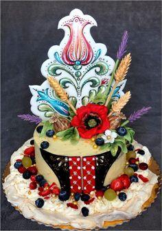 Slovakia folk ♥♥♥ - cake by mnamka_smizany