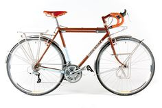 """Aufderheide – Breadwinner Cycles  Breadwinner Cycles builds beautiful, high quality bicycles in Portland, Oregon. Their """"Aufderheide"""" model is optimized for fully-loaded touring and camping trips."""